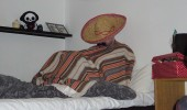 El Pollo del Muerte taking a siesta