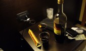 Toblerone, 1€ wine and plastic glasses