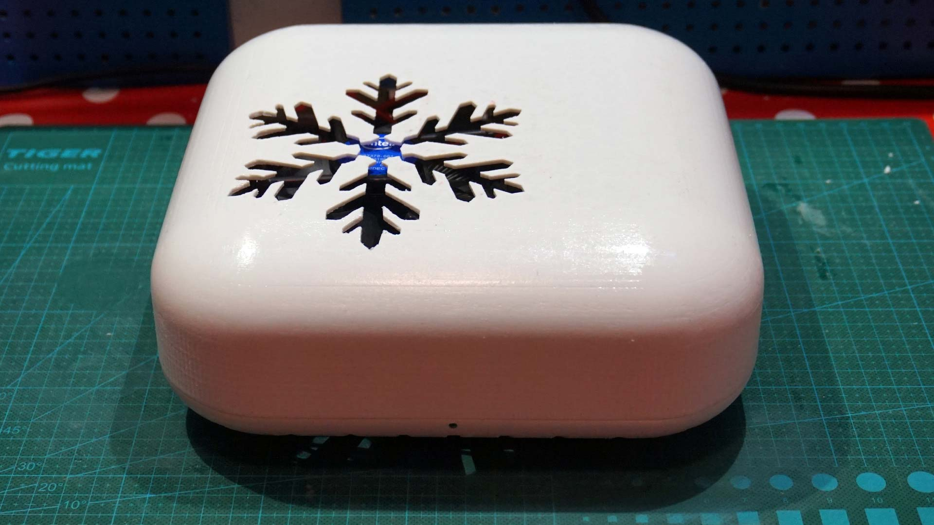 Frosty - fully assembled case
